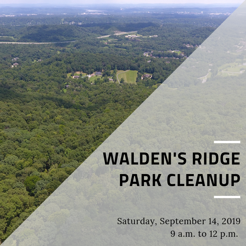 Walden's Ridge Park Cleanup 2019