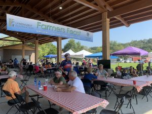 Farmers Feast at the 2019 Cycle Sequatchie Event in Dunlap, TN.