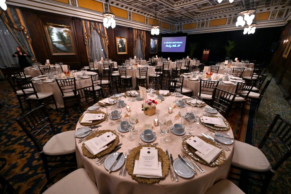 The Grand Ballroom at The Hermitage Hotel for the event honoring Ridley Wills II on Monday, November 18, 2019.